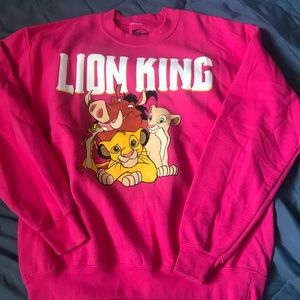 Lion king pullover